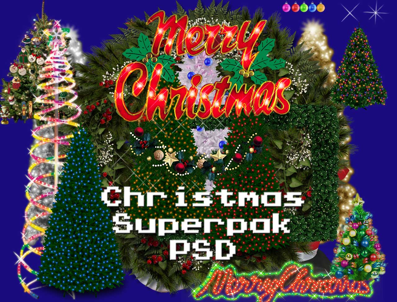 Christmas Megapak PSD by dbszabo1