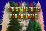 Christmas Trees PSD SuperPak