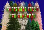 Christmas Trees PSD SuperPak