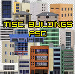 City Buildings PSD