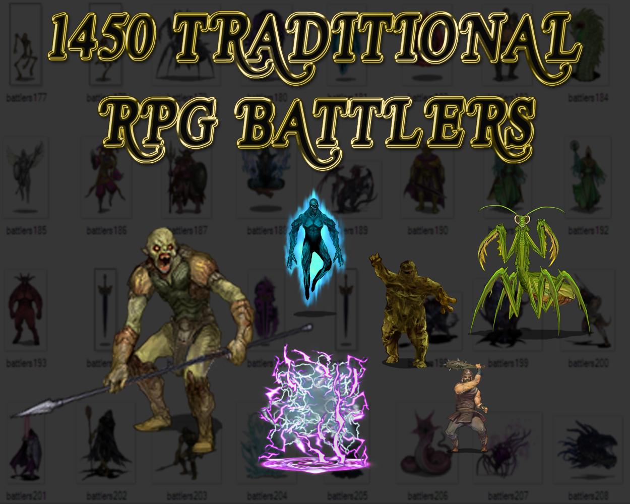 1450 RPG BATTLERS