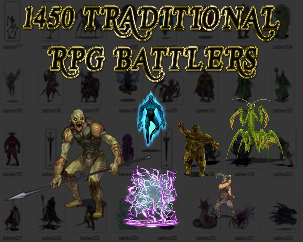 1450 RPG BATTLERS by dbszabo1