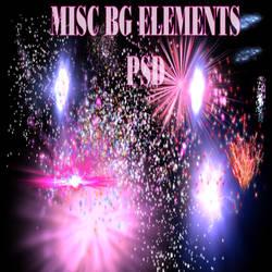 misc bg elements psd
