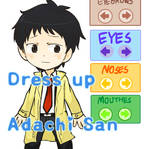 Flash- Dress up Adachi san