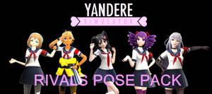 [MMD - Yandere Simulator] Rivals Pose Pack (+DL)