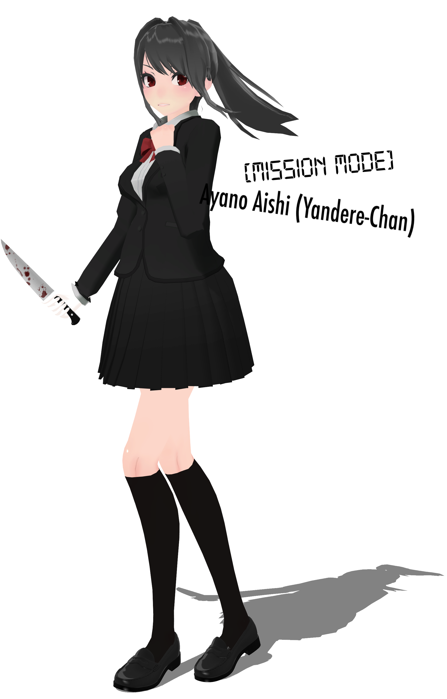 Hanahaki Ayano Aishi by aenomae   Yandere Simulator