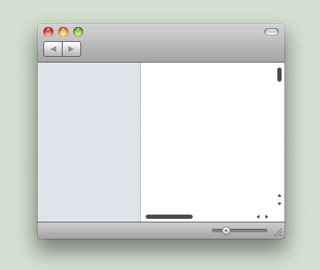 iOS Scrollbars by AdrianFahrbach