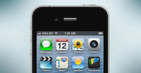 iPhone 4s PSD