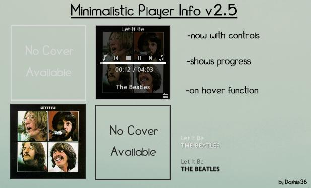 Minimalistic Player Info v2.5 [Updated] by Dashie36