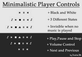 Minimal Player Controls v1.00 by Dashie36