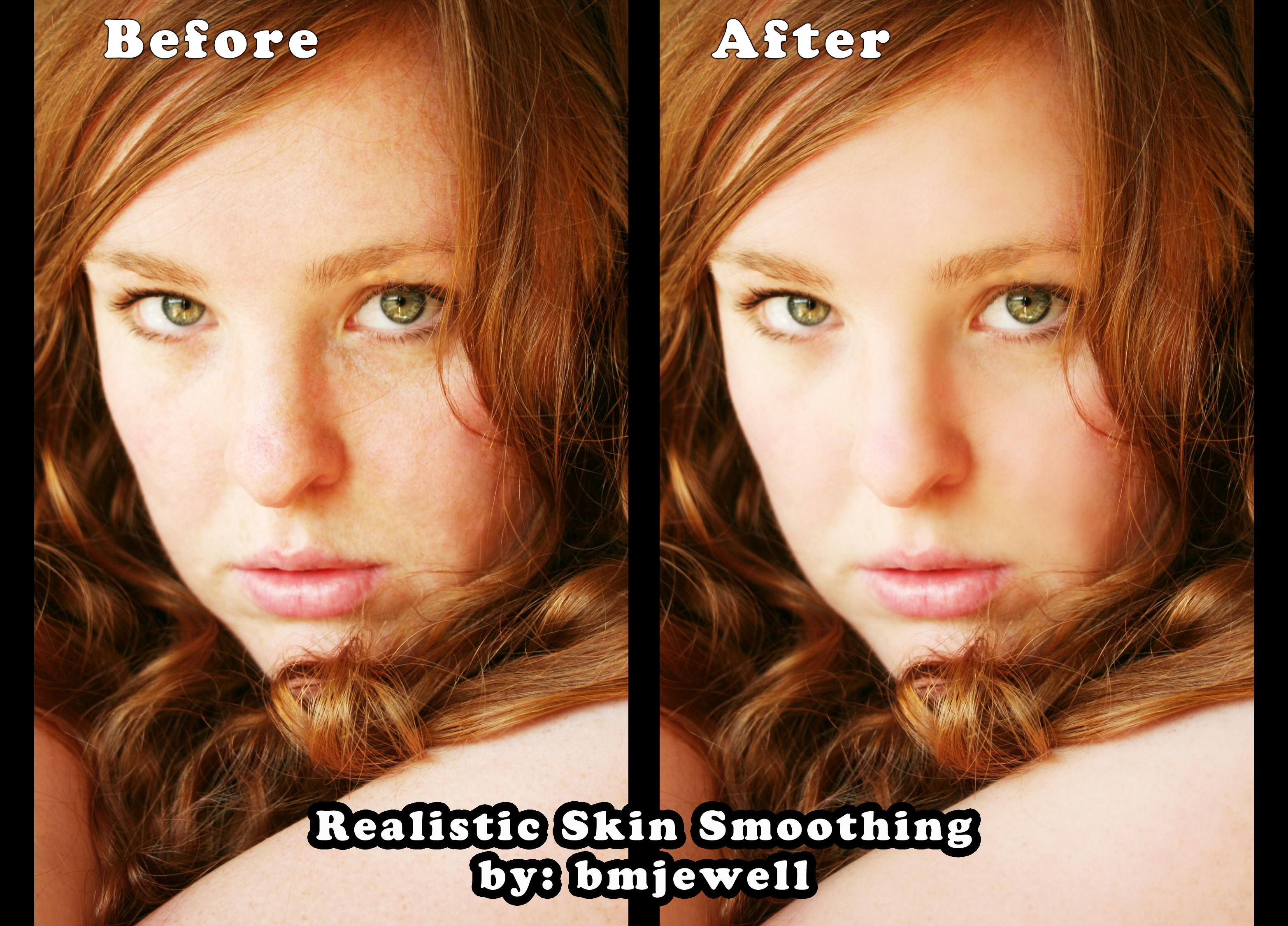 Realistic Skin Smoothing