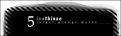 Large Grunge Masks -5- by ianthinae