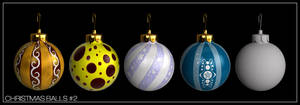 Christmas Balls pack 2