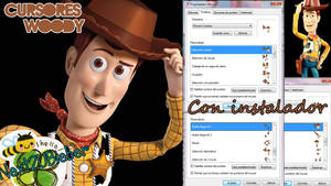 Cursores Woody {Toy Story}