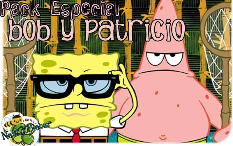 Pack especial: Bob Esponja y Patricio Estrella by Cursorsandmore