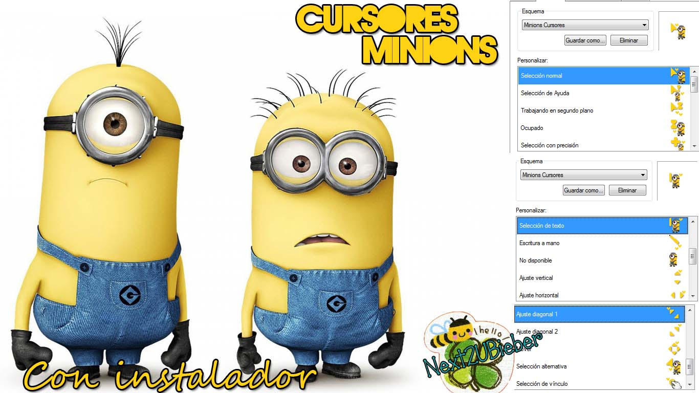 Muitas vezes Cursores Minions by Cursorsandmore on DeviantArt YX23