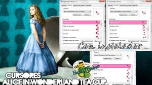 Cursores Alice In Wonderland Tea Cup