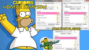 Homer Simpson Cursors