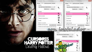 Harry Potter Cursors (Deathly Hallows)
