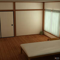 Simple Bedroom HQ for XPS by LexaKiness