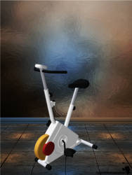 Exercise Bike [XPS] by LexaKiness
