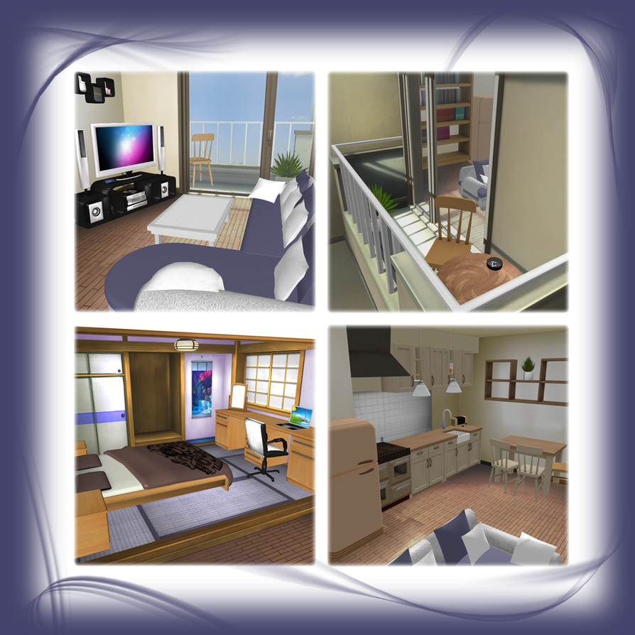 Bedsitting Room Apartment - Stage-Mod [XPS] by LexaKiness