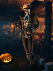 Xigbar Pirate - Halloween [XPS] by LexaKiness