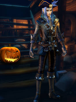Saix Pirate - Halloween [XPS]