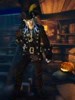 Xemnas Pirate - Halloween [XPS]