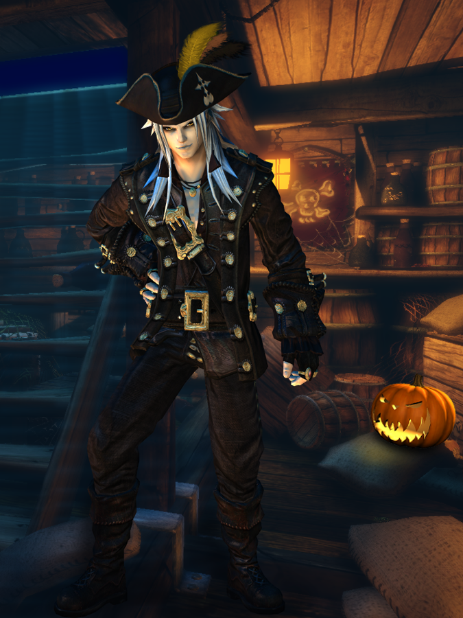 Xemnas Pirate - Halloween [XPS] by LexaKiness