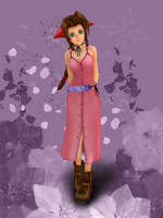 Aerith KH 1 [XPS] by LexaKiness