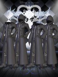 Organization XIII Coats - Male [XPS]