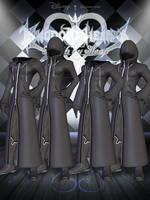 Organization XIII Coats - Male [XPS] by LexaKiness