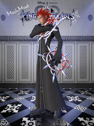 Axel/Lea - KH 2/3 --- MeshMod [XPS] by LexaKiness