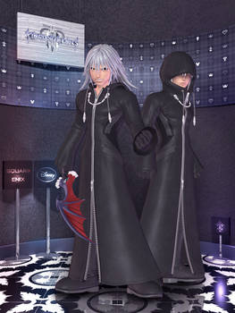 Riku Org. XIII - Kingdom Hearts III - [XPS]