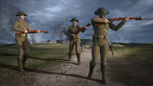 British WW1 Lee Enfield Mk 3 Rifle for G8M (Daz3D)
