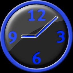 Blue Clock Icon By Jochen187 On Deviantart