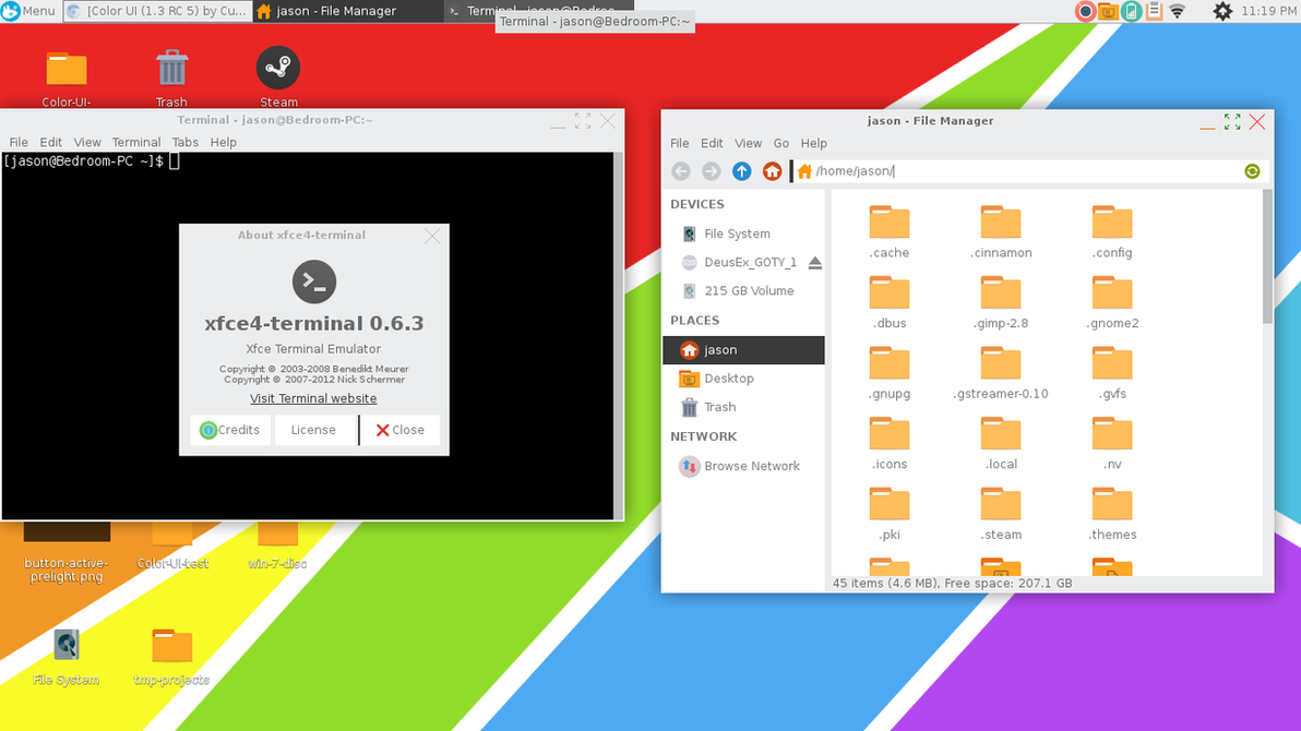 Color UI (1.5.1 RPF 2 Build 19) by CustomArtDesigner