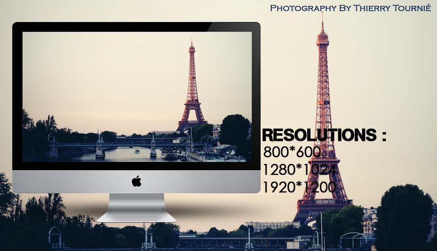 Paris Eiffel Tower Wallpaper by Criquet