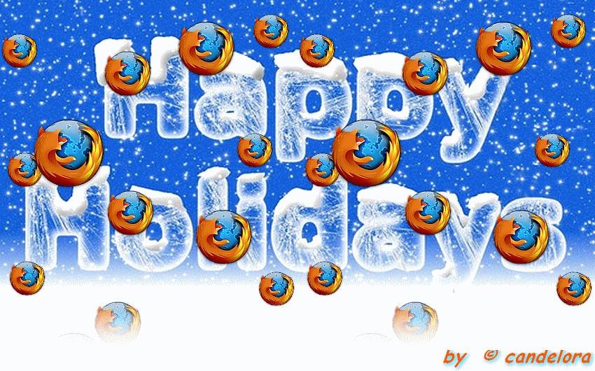 Firefox Christmas Card