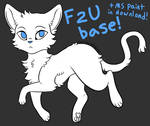 F2U cat base (+ MS PAINT friendly version)