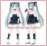 Watcher's gift Sour Classic Idol Miku + DL