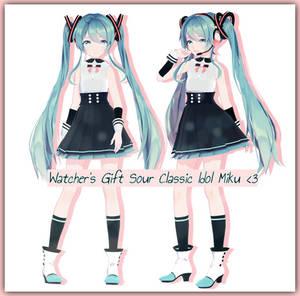 Watcher's gift Sour Classic Idol Miku + DL