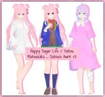 Happy Sugar Life // Satou Matsuzaka _ Auntie + DL by HatsuneDKaname