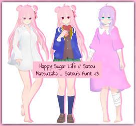 Happy Sugar Life // Satou Matsuzaka _ Auntie + DL