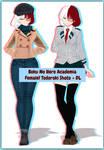 My Hero Academia // Female! Todoroki Shoto + DL