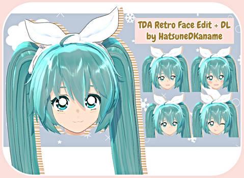 TDA Retro Face Edit + DL