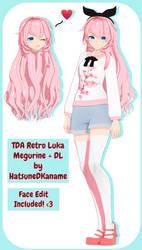 TDA Retro Luka Megurine + DL by HatsuneDKaname