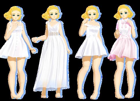 Dresses 2 by HatsuneDKaname + DL