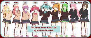 TDA Sailor Retro Model Pack + DL